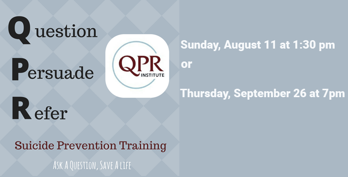 QPR Suicide Prevention Training