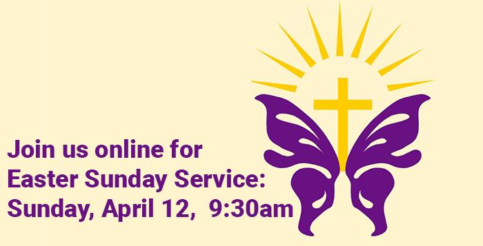 Join us for our Easter Morning LiveStream service